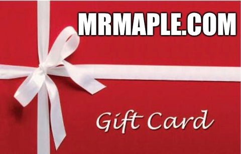 Gift Card For MrMaple.com