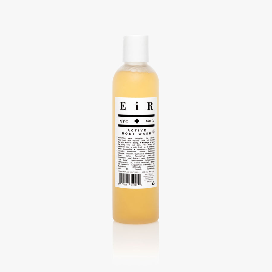 Active Body Wash - Body Wash - Eir NYC Natural Skincare
