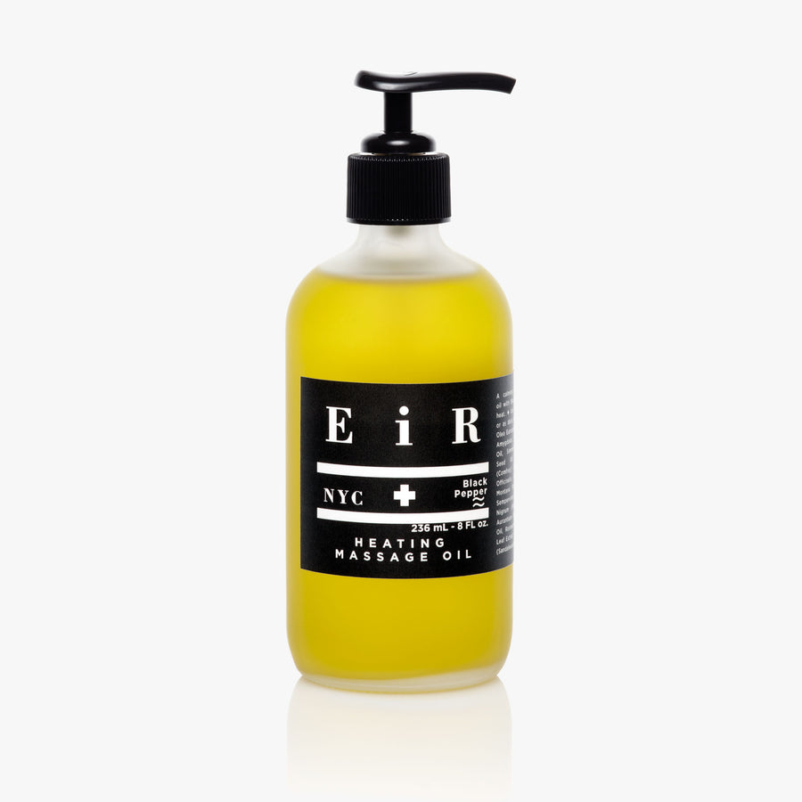 Heating Massage Oil - Body Oil - Eir NYC Natural Skincare