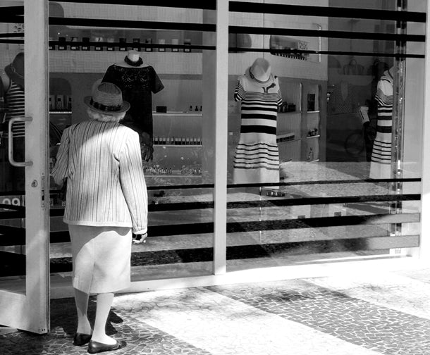 """Mirror Mirror"" while walking through Lincoln Road, Miami Beach"