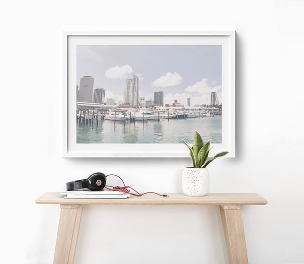 A Bayside Miami NEW RELEASE FIne Art Photography Print
