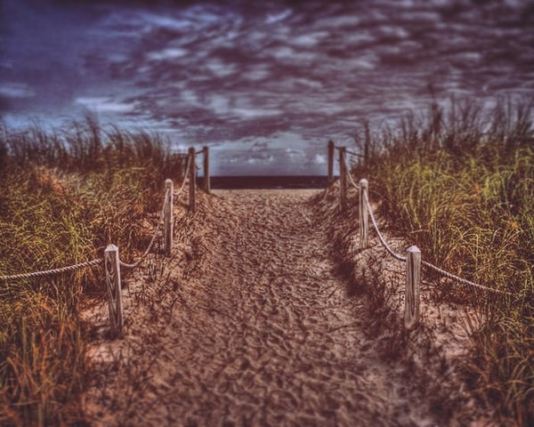Ocean Path, a South Beach Photography Portrait by Roman Gerardo