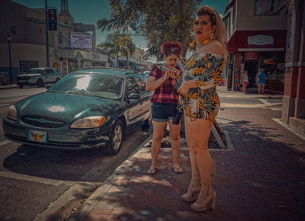 """Trans Miami""... Street Photography while walking through Little Havana"