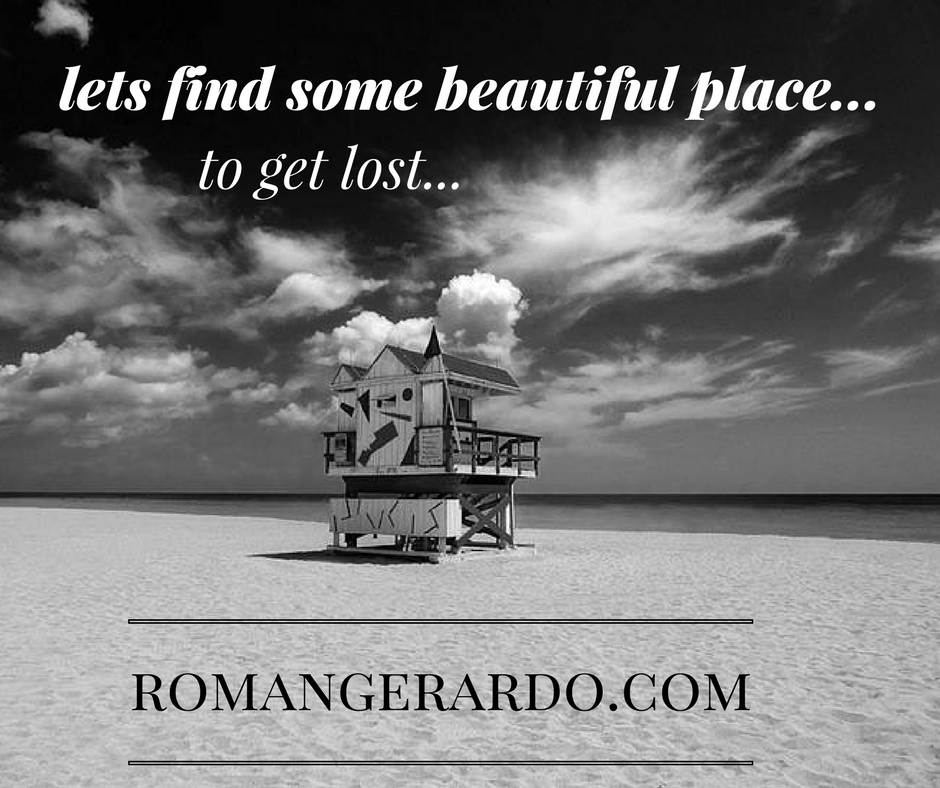 Let's find some beautiful place to get lost... photography by Roman Gerardo