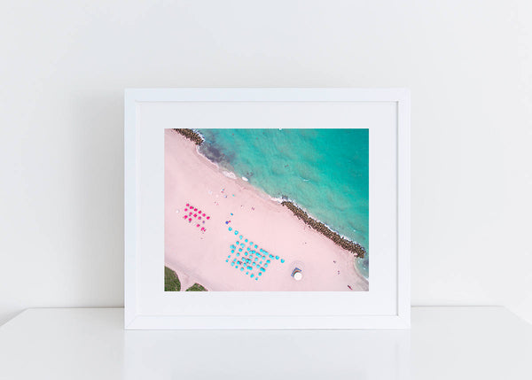 NEW RELEASE Paradise Loading an Aerial Miami Beach Photography Portrait