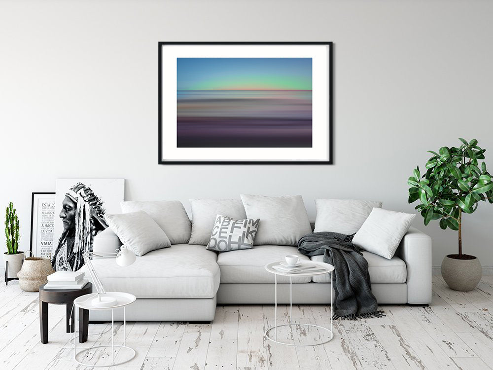 NEW RELEASE South Beach Waiting for the Night Abstract Seascape