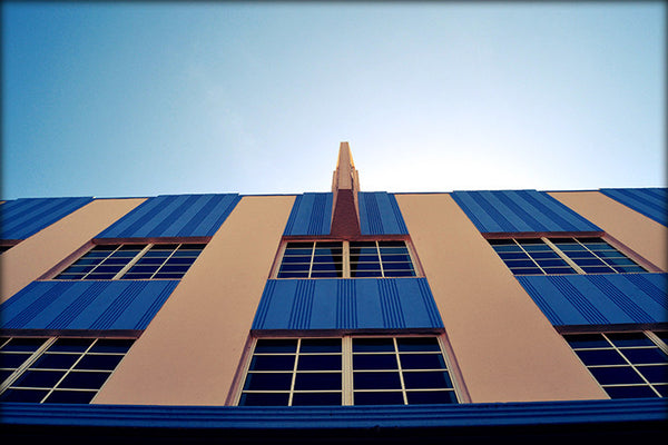 Symmetry Miami Beach Art Deco Architecture Photography by Roman Gerardo