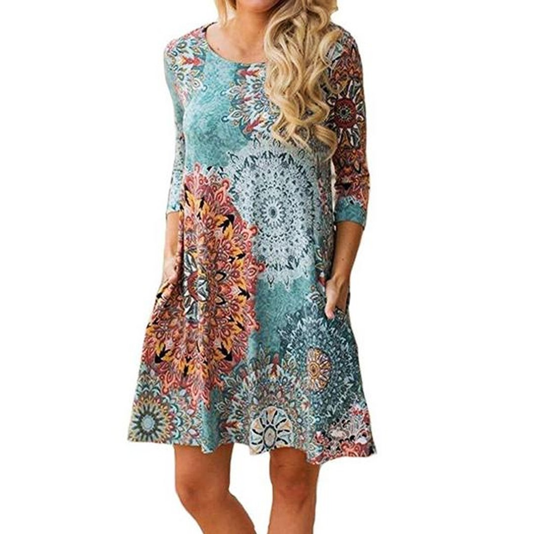 Summer Dresses with Sleeves On Sale