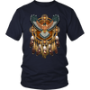 Native American Fiery Falcon T-Shirt