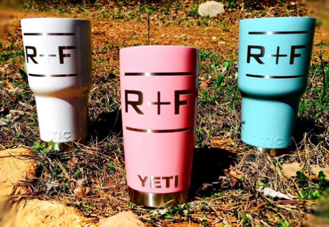 Rodan and Fields Powder Coated Custom Yeti Rambler / RTIC / HOGG Tumbler Cup - R&F Swag - Permanently Engraved - Graphic Pros