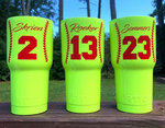 Baseball & Softball Tumbler - YETI / RTIC / HOGG - Coach Appreciation Gift / Softball Trophy / Baseball Trophy / Softball gift - Graphic Pros