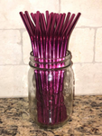 Colorful metal straws, stainless straws, metal straws, drinking straw, reusable straws, reusable party straws, eco friendly for YETI / RTIC / HOGG