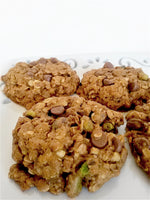 Vegan 7-Grain and Seed Pistachio Cookies
