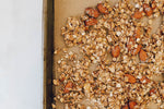 Homemade 7 Grain and Seed Banana Nut Granola