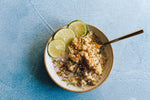 Vegan Coconut Lime Millet Breakfast Bowls