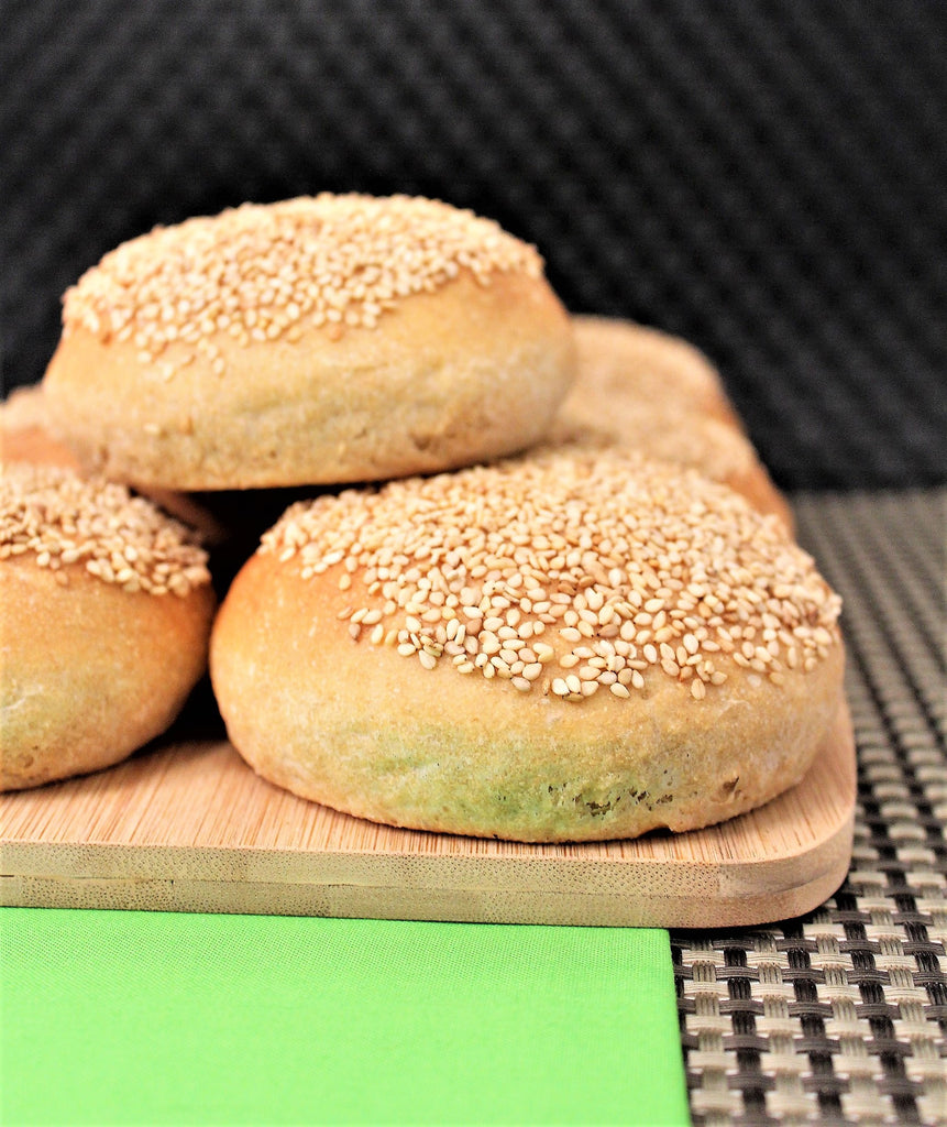 1 Hour Fast and Easy Sprouted Wheat Hamburger Buns