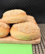 1 Hour Fast and Easy Sprouted Wheat Veggie-Burger Buns