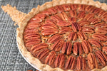 Healthier Whole Grain Caramel Pecan Pie