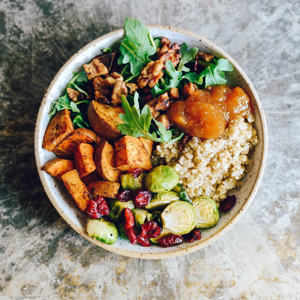 quinoa grain bowl