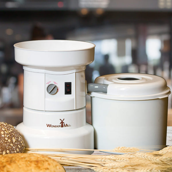 WonderMill Electric Grain Mill - Organicgrains.com
