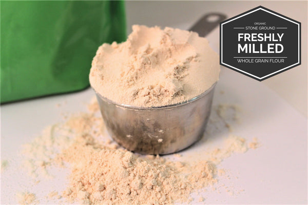 Organic Brown Basmati Rice Flour - Freshly Milled - Organicgrains.com