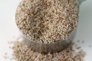 Organic Chia Seeds (White)