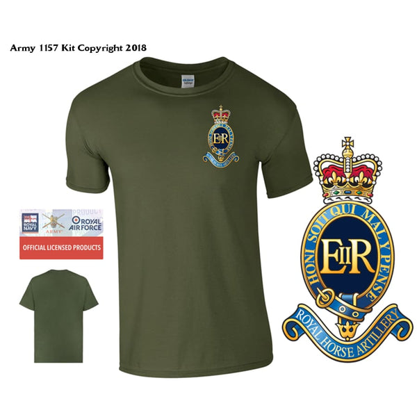 1 RHA T-Shirt - Army 1157 Kit  Veterans Owned Business