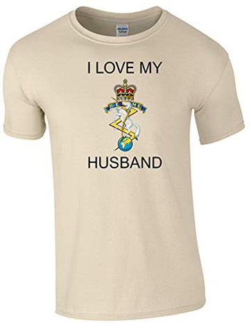 I Love My REME Husband T-Shirt Ministry of Defence Official MOD Approved Merchandise - Army 1157 Kit  Veterans Owned Business