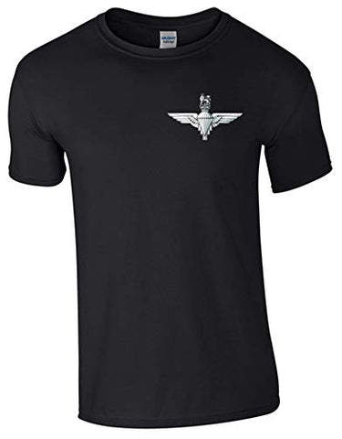 Ministry of Defence T-Shirt with para Front Only. Official MOD Approved Merchandise