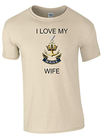 I Love My Wren Wife T-Shirt Ministry of Defence Official MOD Approved Merchandise