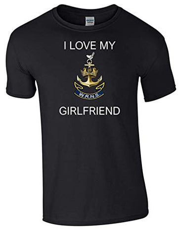 I Love My Wren Girlfriend T-Shirt Ministry of Defence Official MOD Approved Merchandise