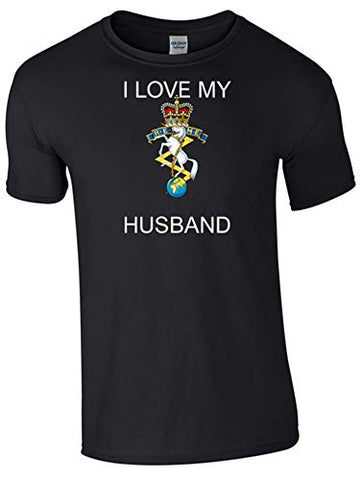 I Love My REME Husband T-Shirt Ministry of Defence Official MOD Approved Merchandise
