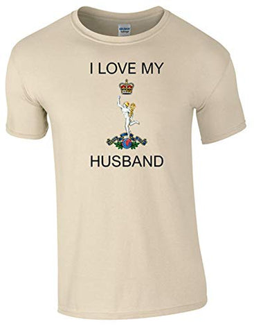 I Love My Royal Signals Husband T-Shirt Ministry of Defence Official MOD Approved Merchandise - Army 1157 Kit  Veterans Owned Business