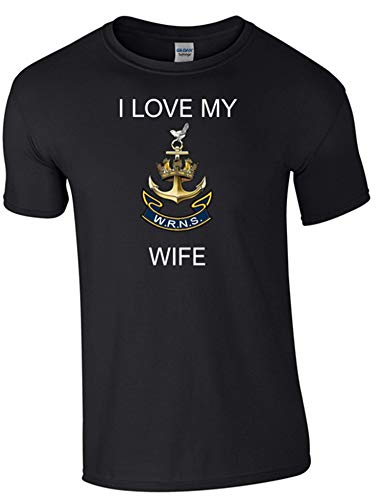 I Love My Wren Wife T-Shirt Ministry of Defence Official MOD Approved Merchandise - Army 1157 Kit  Veterans Owned Business