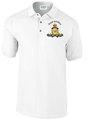 Royal Artillery Polo Shirt Official MOD Approved Merchandise