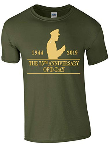 Bear Essentials D-Day 75th Anniversary T-Shirt - Army 1157 Kit  Veterans Owned Business