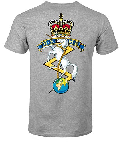 REME Front and Back Logo T-Shirt Official MOD Approved Merchandise - Army 1157 Kit  Veterans Owned Business