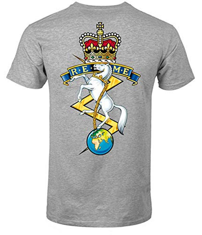 REME Front and Back Logo T-Shirt Official MOD Approved Merchandise