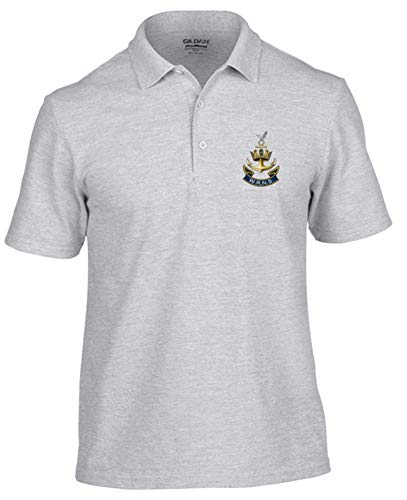 WRENS Polo Shirt (S, Grey) - Army 1157 Kit  Veterans Owned Business