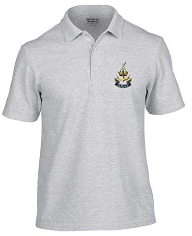 WRENS Polo Shirt (M, Grey) - Army 1157 Kit  Veterans Owned Business