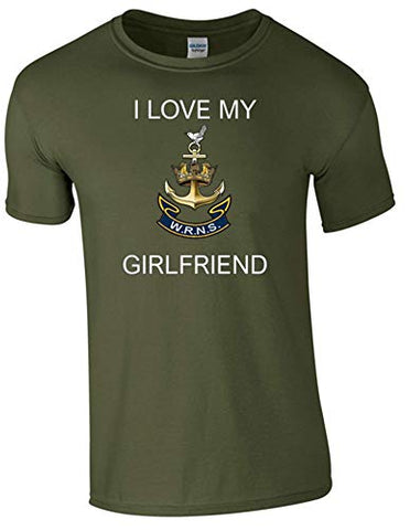 I Love My Wren Girlfriend T-Shirt Ministry of Defence Official MOD Approved Merchandise - Army 1157 Kit  Veterans Owned Business