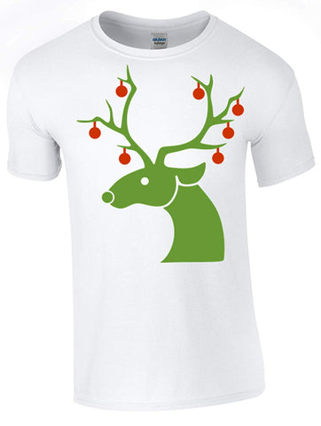 Novelty Reindeer Christmas T-Shirt