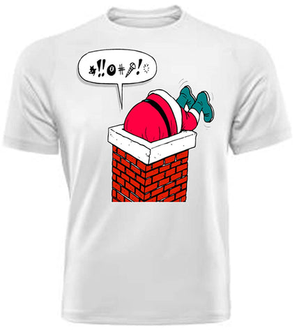 Army 1157 Kit Novelty Santa T-Shirt, Part of The Christmas Collection