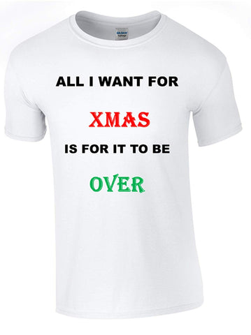 Bear Essentials Clothing. All I Want for Christmas T-Shirt