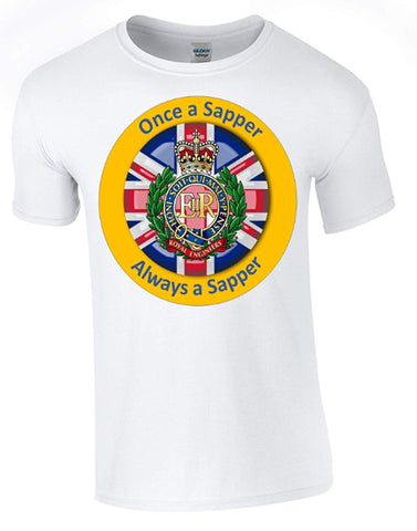 Bear Essentials Clothing. Once a Sapper T-Shirt - Army 1157 Kit  Veterans Owned Business