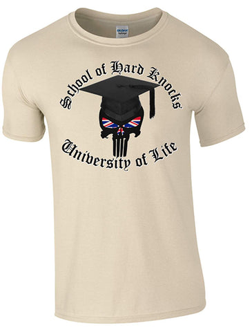 Bear Essentials Clothing. School of Hard Knocks T-Shirt