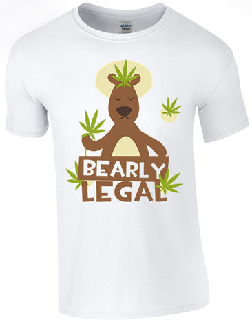 Bearly Legal T-Shirt - Army 1157 Kit  Veterans Owned Business
