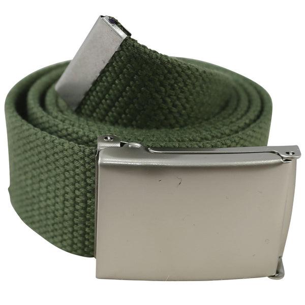 Kombat UK Army Style Clasp Belt, Olive Green, 117 cm - Army 1157 Kit  Veterans Owned Business