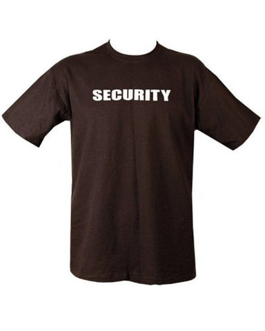 Door staff - Security Officer T Shirt (Small) - Army 1157 Kit  Veterans Owned Business