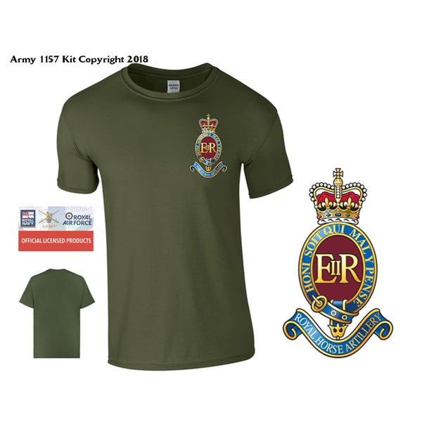 7 RHA T-Shirt - Army 1157 Kit  Veterans Owned Business